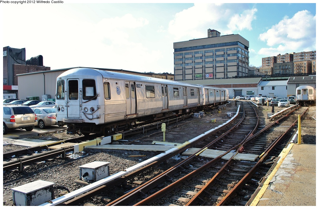 (380k, 1044x684)<br><b>Country:</b> United States<br><b>City:</b> New York<br><b>System:</b> New York City Transit<br><b>Location:</b> 207th Street Yard<br><b>Car:</b> R-44 (St. Louis, 1971-73) 5358 <br><b>Photo by:</b> Wilfredo Castillo<br><b>Date:</b> 2/1/2012<br><b>Viewed (this week/total):</b> 2 / 867