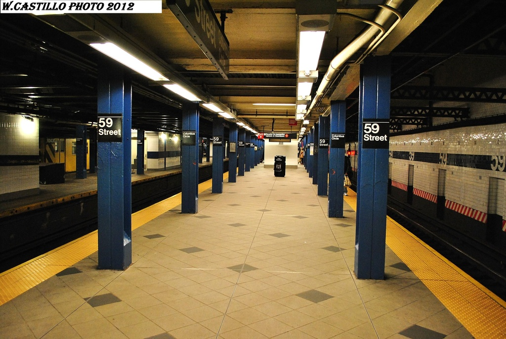(322k, 1024x686)<br><b>Country:</b> United States<br><b>City:</b> New York<br><b>System:</b> New York City Transit<br><b>Line:</b> IND 8th Avenue Line<br><b>Location:</b> 59th Street/Columbus Circle <br><b>Photo by:</b> Wilfredo Castillo<br><b>Date:</b> 2/25/2012<br><b>Viewed (this week/total):</b> 2 / 1032