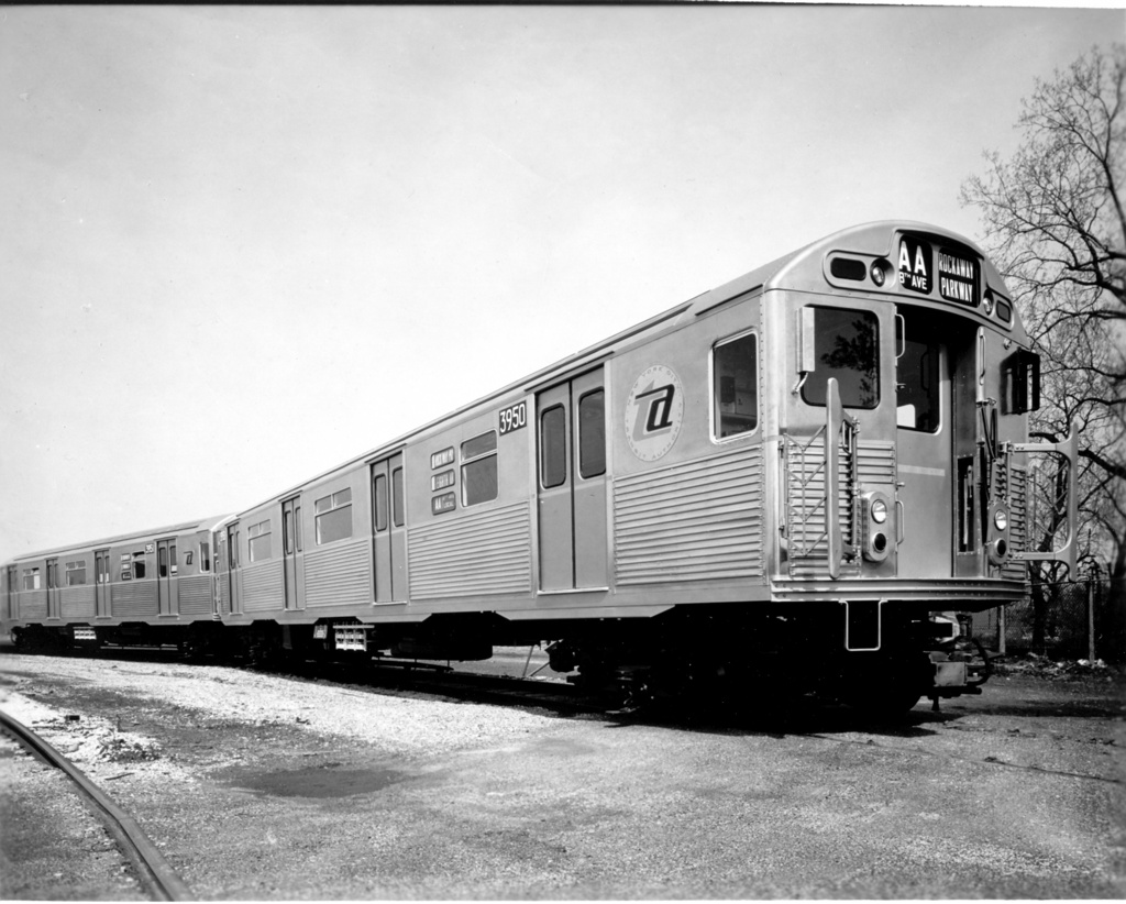 (255k, 1024x822)<br><b>Country:</b> United States<br><b>City:</b> New York<br><b>System:</b> New York City Transit<br><b>Location:</b> Coney Island Yard<br><b>Car:</b> R-38 (St. Louis, 1966-1967)  3950 <br><b>Photo by:</b> Ed Watson/Arthur Lonto Collection<br><b>Collection of:</b> Frank Pfuhler<br><b>Date:</b> 1965<br><b>Viewed (this week/total):</b> 2 / 656