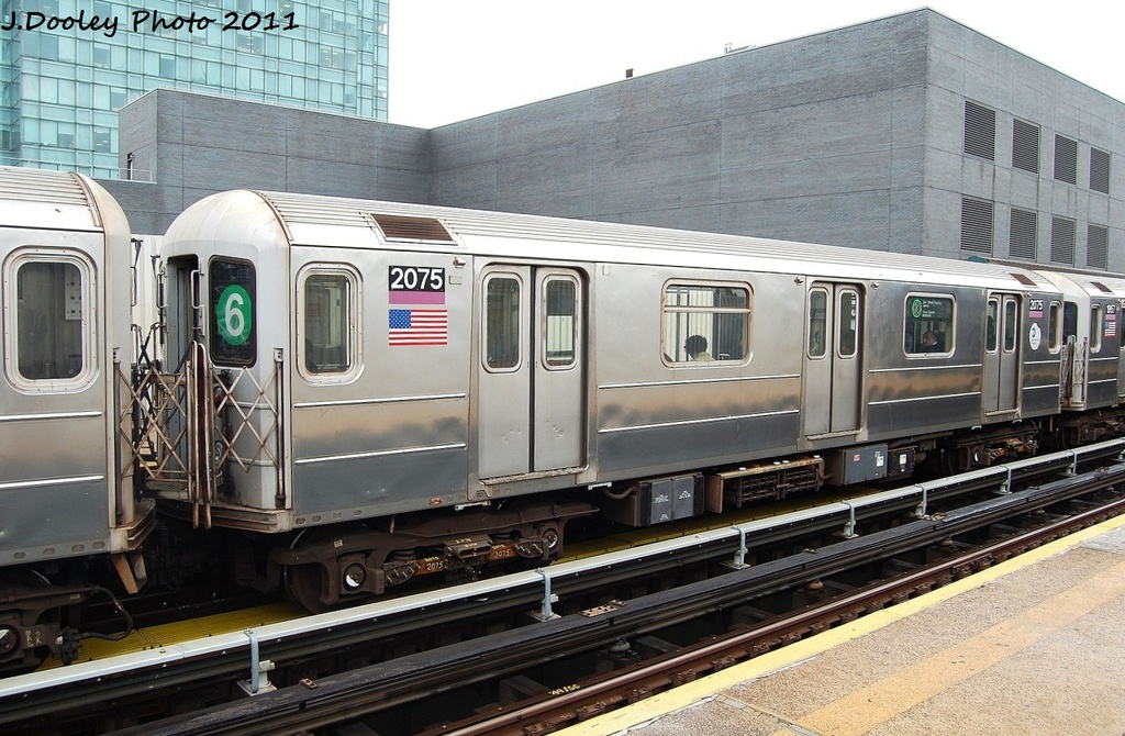 (351k, 1024x670)<br><b>Country:</b> United States<br><b>City:</b> New York<br><b>System:</b> New York City Transit<br><b>Line:</b> IRT Flushing Line<br><b>Location:</b> Court House Square/45th Road <br><b>Route:</b> 7<br><b>Car:</b> R-62A (Bombardier, 1984-1987)  2075 <br><b>Photo by:</b> John Dooley<br><b>Date:</b> 9/20/2011<br><b>Viewed (this week/total):</b> 4 / 459