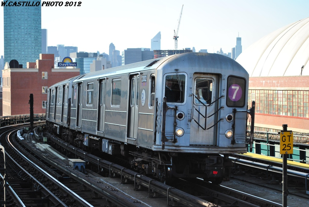 (294k, 1024x687)<br><b>Country:</b> United States<br><b>City:</b> New York<br><b>System:</b> New York City Transit<br><b>Line:</b> IRT Flushing Line<br><b>Location:</b> 33rd Street/Rawson Street <br><b>Route:</b> 7<br><b>Car:</b> R-62A (Bombardier, 1984-1987)  2002 <br><b>Photo by:</b> Wilfredo Castillo<br><b>Date:</b> 3/6/2012<br><b>Viewed (this week/total):</b> 1 / 314