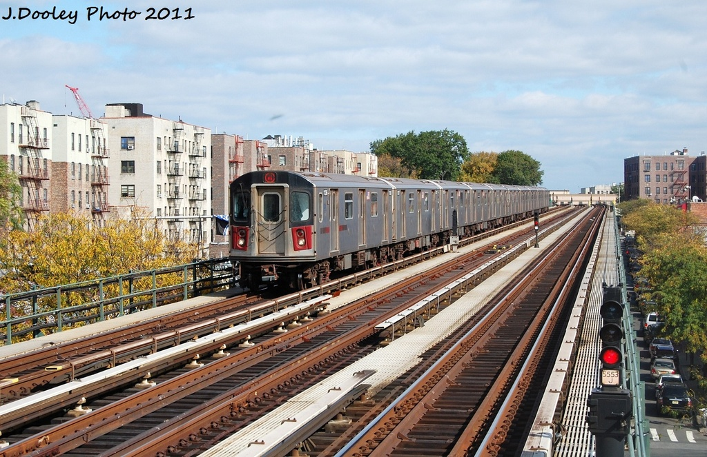 (389k, 1024x663)<br><b>Country:</b> United States<br><b>City:</b> New York<br><b>System:</b> New York City Transit<br><b>Line:</b> IRT Woodlawn Line<br><b>Location:</b> Bedford Park Boulevard <br><b>Route:</b> 4<br><b>Car:</b> R-142 (Option Order, Bombardier, 2002-2003)  1136 <br><b>Photo by:</b> John Dooley<br><b>Date:</b> 10/23/2011<br><b>Viewed (this week/total):</b> 1 / 492