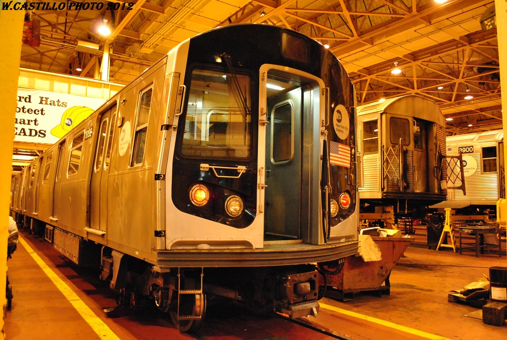 (357k, 1024x687)<br><b>Country:</b> United States<br><b>City:</b> New York<br><b>System:</b> New York City Transit<br><b>Location:</b> Coney Island Shop/Overhaul & Repair Shop<br><b>Car:</b> R-143 (Kawasaki, 2001-2002) 8192 <br><b>Photo by:</b> Wilfredo Castillo<br><b>Date:</b> 2/26/2012<br><b>Viewed (this week/total):</b> 0 / 224