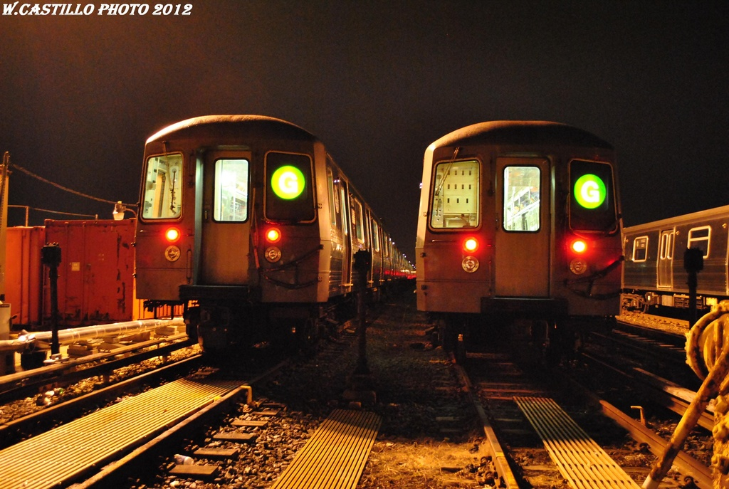 (317k, 1024x687)<br><b>Country:</b> United States<br><b>City:</b> New York<br><b>System:</b> New York City Transit<br><b>Location:</b> Coney Island Yard<br><b>Car:</b> R-68A (Kawasaki, 1988-1989)  5040 <br><b>Photo by:</b> Wilfredo Castillo<br><b>Date:</b> 2/22/2012<br><b>Viewed (this week/total):</b> 0 / 489
