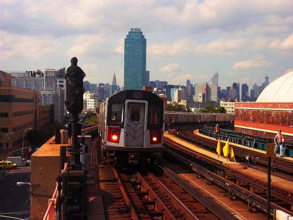 (342k, 1024x768)<br><b>Country:</b> United States<br><b>City:</b> New York<br><b>System:</b> New York City Transit<br><b>Line:</b> IRT Flushing Line<br><b>Location:</b> 33rd Street/Rawson Street <br><b>Route:</b> 7 testing<br><b>Car:</b> R-142A (Primary Order, Kawasaki, 1999-2002)  7240 <br><b>Photo by:</b> Christopher Henderson<br><b>Date:</b> 9/30/2011<br><b>Viewed (this week/total):</b> 1 / 826
