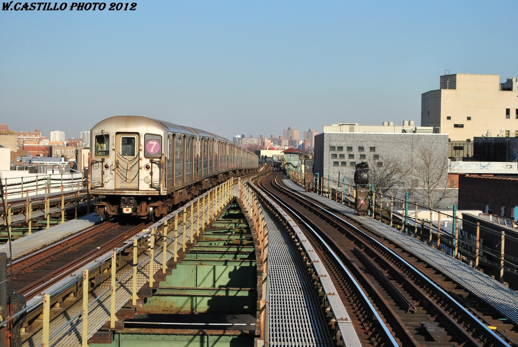 (339k, 1024x687)<br><b>Country:</b> United States<br><b>City:</b> New York<br><b>System:</b> New York City Transit<br><b>Line:</b> IRT Flushing Line<br><b>Location:</b> Junction Boulevard <br><b>Route:</b> 7<br><b>Car:</b> R-62A (Bombardier, 1984-1987)  1791 <br><b>Photo by:</b> Wilfredo Castillo<br><b>Date:</b> 3/6/2012<br><b>Viewed (this week/total):</b> 0 / 799