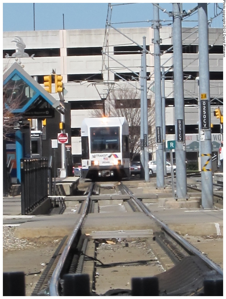 (284k, 788x1044)<br><b>Country:</b> United States<br><b>City:</b> Jersey City, NJ<br><b>System:</b> Hudson Bergen Light Rail<br><b>Location:</b> Harsimus Cove <br><b>Car:</b> NJT-HBLR LRV (Kinki-Sharyo, 1998-99)  2034 <br><b>Photo by:</b> David Pirmann<br><b>Date:</b> 3/11/2012<br><b>Viewed (this week/total):</b> 1 / 88