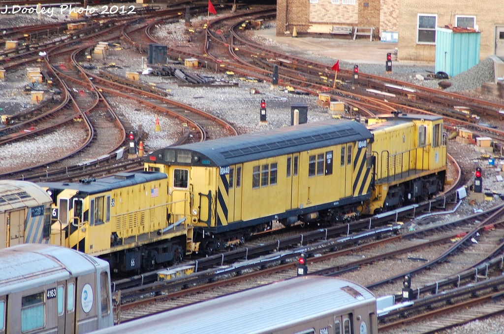 (411k, 1024x680)<br><b>Country:</b> United States<br><b>City:</b> New York<br><b>System:</b> New York City Transit<br><b>Location:</b> Coney Island Yard<br><b>Route:</b> Work Service<br><b>Car:</b> R-47 Locomotive  66 <br><b>Photo by:</b> John Dooley<br><b>Date:</b> 1/29/2012<br><b>Viewed (this week/total):</b> 0 / 483