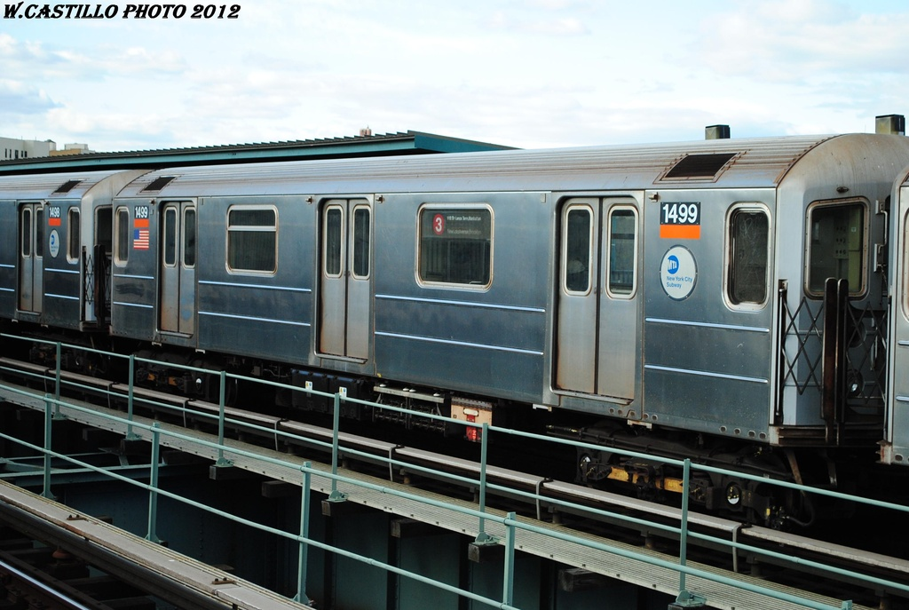 (279k, 1024x687)<br><b>Country:</b> United States<br><b>City:</b> New York<br><b>System:</b> New York City Transit<br><b>Line:</b> IRT Brooklyn Line<br><b>Location:</b> Sutter Avenue/Rutland Road <br><b>Route:</b> 3<br><b>Car:</b> R-62 (Kawasaki, 1983-1985)  1499 <br><b>Photo by:</b> Wilfredo Castillo<br><b>Date:</b> 3/29/2012<br><b>Viewed (this week/total):</b> 1 / 238