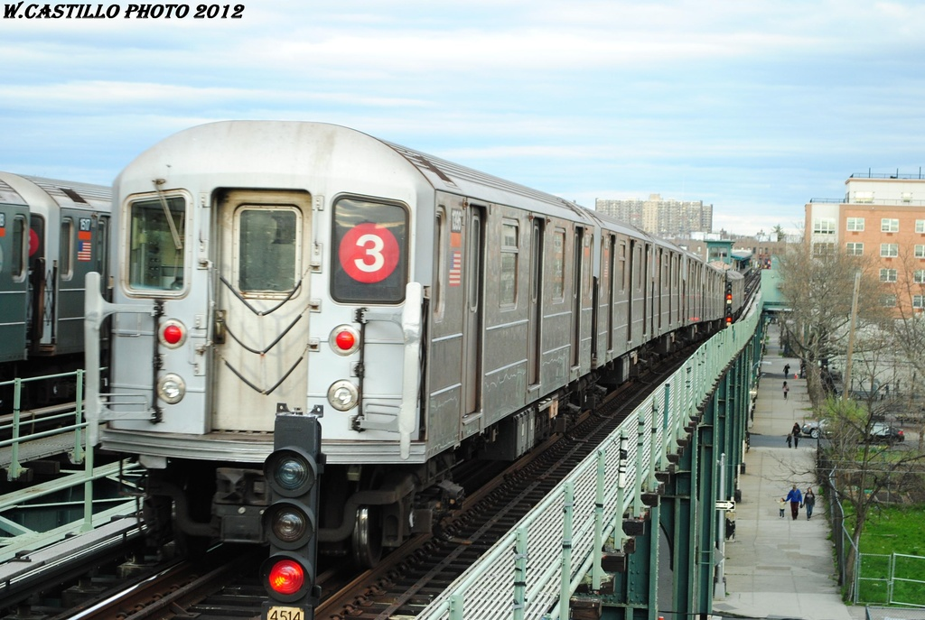 (295k, 1024x687)<br><b>Country:</b> United States<br><b>City:</b> New York<br><b>System:</b> New York City Transit<br><b>Line:</b> IRT Brooklyn Line<br><b>Location:</b> Van Siclen Avenue <br><b>Route:</b> 3<br><b>Car:</b> R-62 (Kawasaki, 1983-1985)  1396 <br><b>Photo by:</b> Wilfredo Castillo<br><b>Date:</b> 3/29/2012<br><b>Viewed (this week/total):</b> 4 / 234
