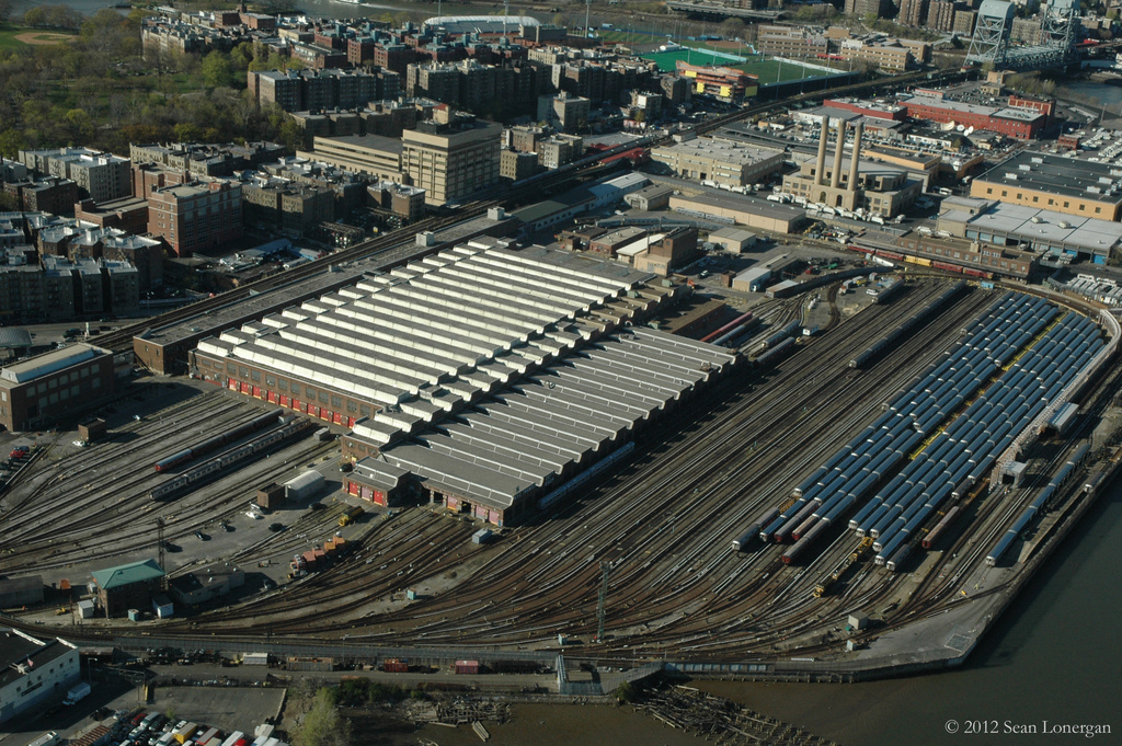 (514k, 1024x681)<br><b>Country:</b> United States<br><b>City:</b> New York<br><b>System:</b> New York City Transit<br><b>Location:</b> 207th Street Yard<br><b>Photo by:</b> Sean Lonergan<br><b>Date:</b> 4/7/2012<br><b>Viewed (this week/total):</b> 1 / 472