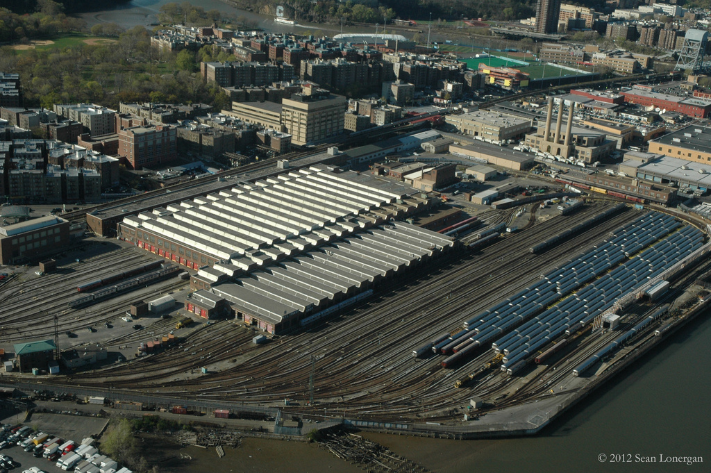 (495k, 1024x681)<br><b>Country:</b> United States<br><b>City:</b> New York<br><b>System:</b> New York City Transit<br><b>Location:</b> 207th Street Yard<br><b>Photo by:</b> Sean Lonergan<br><b>Date:</b> 4/7/2012<br><b>Viewed (this week/total):</b> 0 / 307