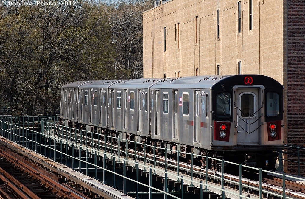 (462k, 1024x668)<br><b>Country:</b> United States<br><b>City:</b> New York<br><b>System:</b> New York City Transit<br><b>Line:</b> IRT Brooklyn Line<br><b>Location:</b> Sutter Avenue/Rutland Road <br><b>Route:</b> 2<br><b>Car:</b> R-142 (Primary Order, Bombardier, 1999-2002)  6346 <br><b>Photo by:</b> John Dooley<br><b>Date:</b> 3/29/2012<br><b>Viewed (this week/total):</b> 3 / 509