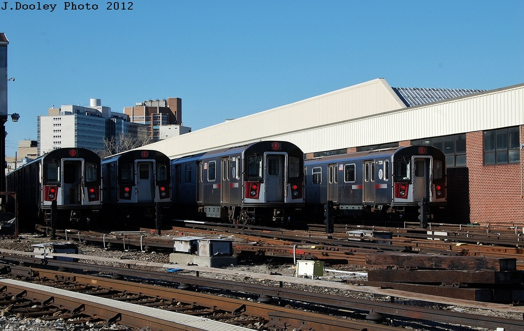 (329k, 1024x647)<br><b>Country:</b> United States<br><b>City:</b> New York<br><b>System:</b> New York City Transit<br><b>Location:</b> Westchester Yard<br><b>Car:</b> R-142A (Primary Order, Kawasaki, 1999-2002)  7226 <br><b>Photo by:</b> John Dooley<br><b>Date:</b> 2/26/2012<br><b>Viewed (this week/total):</b> 1 / 313