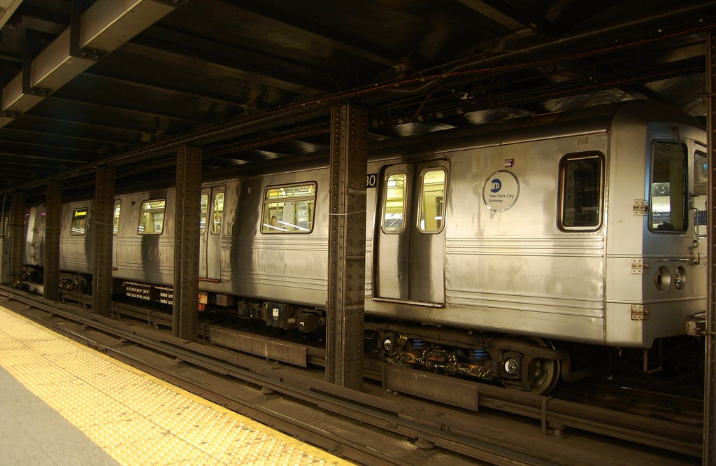 (295k, 1024x666)<br><b>Country:</b> United States<br><b>City:</b> New York<br><b>System:</b> New York City Transit<br><b>Line:</b> IND 8th Avenue Line<br><b>Location:</b> Canal Street-Holland Tunnel <br><b>Route:</b> A<br><b>Car:</b> R-46 (Pullman-Standard, 1974-75) 6230 <br><b>Photo by:</b> John Dooley<br><b>Date:</b> 3/28/2012<br><b>Viewed (this week/total):</b> 1 / 281