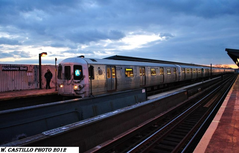 (131k, 800x514)<br><b>Country:</b> United States<br><b>City:</b> New York<br><b>System:</b> New York City Transit<br><b>Line:</b> IND Fulton Street Line<br><b>Location:</b> Rockaway Boulevard <br><b>Route:</b> A<br><b>Car:</b> R-46 (Pullman-Standard, 1974-75) 6004 <br><b>Photo by:</b> Wilfredo Castillo<br><b>Viewed (this week/total):</b> 0 / 242