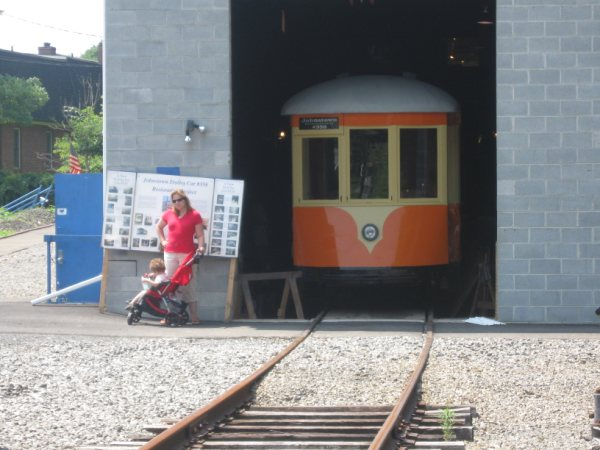 (53k, 600x450)<br><b>Country:</b> United States<br><b>City:</b> Kingston, NY<br><b>System:</b> Trolley Museum of New York <br><b>Photo by:</b> Paul Polischuk<br><b>Date:</b> 8/2009<br><b>Viewed (this week/total):</b> 1 / 207