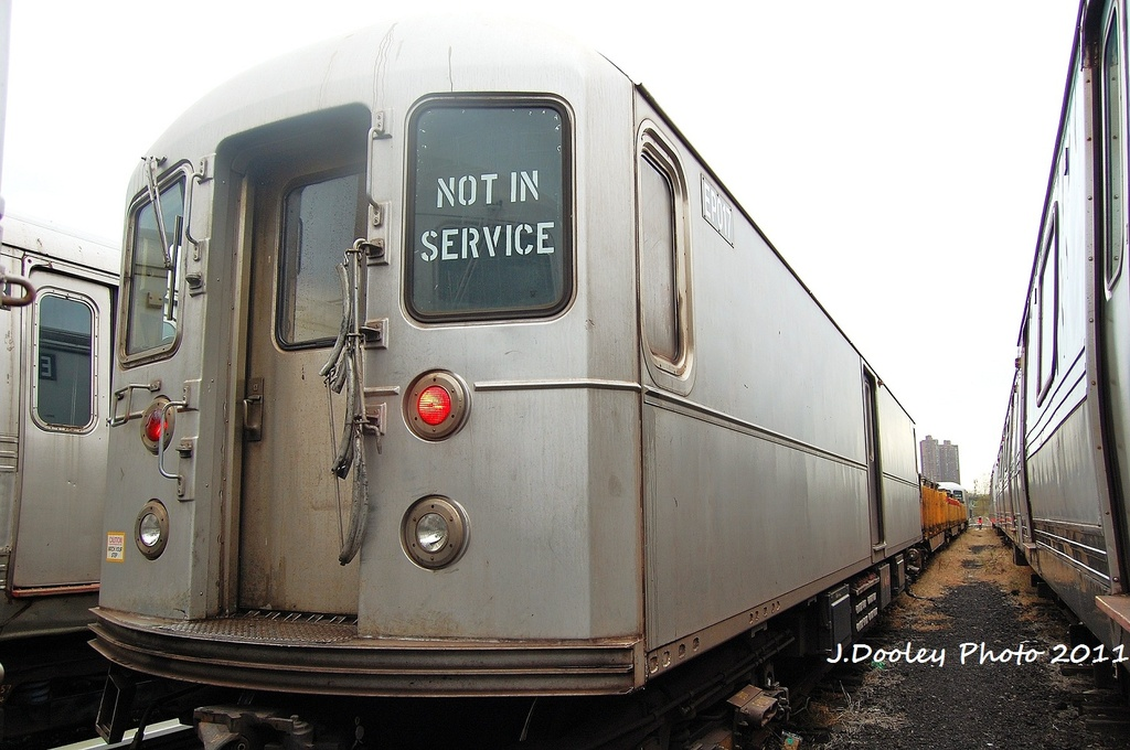 (287k, 1024x680)<br><b>Country:</b> United States<br><b>City:</b> New York<br><b>System:</b> New York City Transit<br><b>Location:</b> 207th Street Yard<br><b>Car:</b> R-127/R-134 (Kawasaki, 1991-1996) EP017 <br><b>Photo by:</b> John Dooley<br><b>Date:</b> 11/29/2011<br><b>Viewed (this week/total):</b> 2 / 118