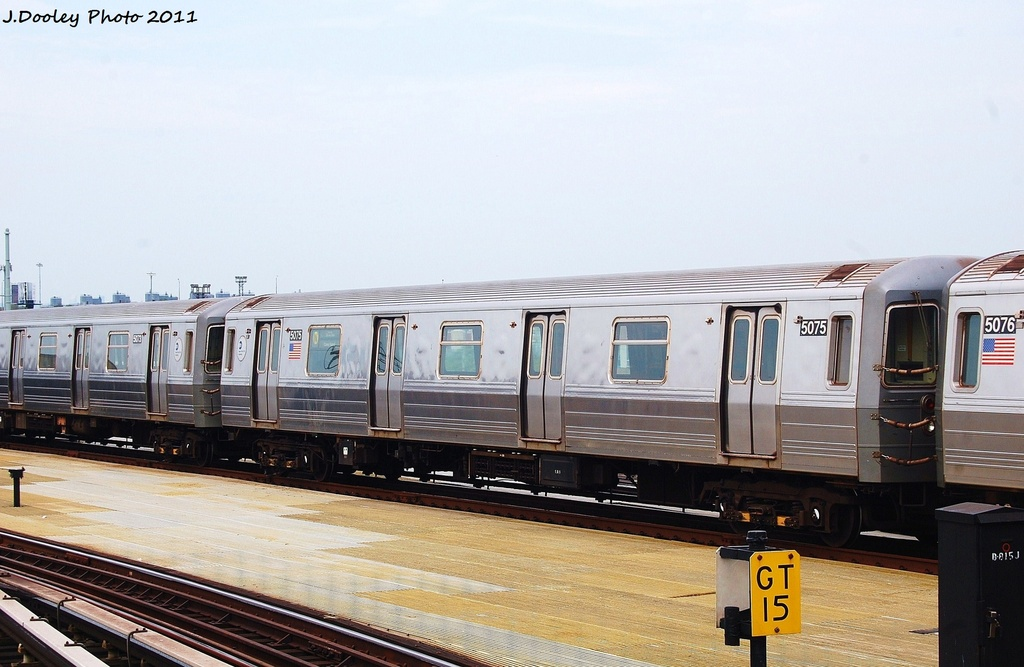 (279k, 1024x667)<br><b>Country:</b> United States<br><b>City:</b> New York<br><b>System:</b> New York City Transit<br><b>Location:</b> Coney Island/Stillwell Avenue<br><b>Route:</b> N<br><b>Car:</b> R-68A (Kawasaki, 1988-1989)  5075 <br><b>Photo by:</b> John Dooley<br><b>Date:</b> 7/23/2011<br><b>Viewed (this week/total):</b> 1 / 152