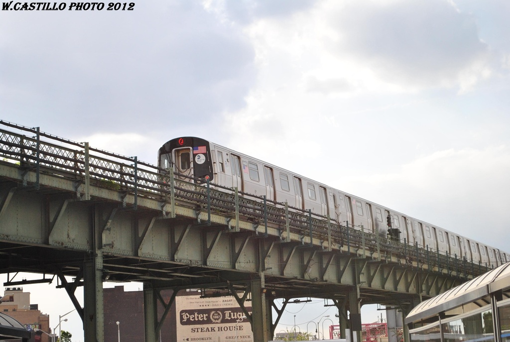 (242k, 1024x687)<br><b>Country:</b> United States<br><b>City:</b> New York<br><b>System:</b> New York City Transit<br><b>Line:</b> BMT Nassau Street/Jamaica Line<br><b>Location:</b> Marcy Avenue <br><b>Route:</b> J<br><b>Car:</b> R-160A-1 (Alstom, 2005-2008, 4 car sets)  8468 <br><b>Photo by:</b> Wilfredo Castillo<br><b>Date:</b> 4/24/2012<br><b>Viewed (this week/total):</b> 1 / 190