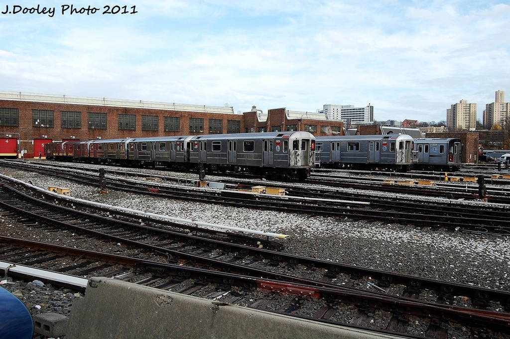 (404k, 1024x680)<br><b>Country:</b> United States<br><b>City:</b> New York<br><b>System:</b> New York City Transit<br><b>Location:</b> 207th Street Yard<br><b>Car:</b> R-62A (Bombardier, 1984-1987)  1926 <br><b>Photo by:</b> John Dooley<br><b>Date:</b> 11/29/2011<br><b>Viewed (this week/total):</b> 2 / 410