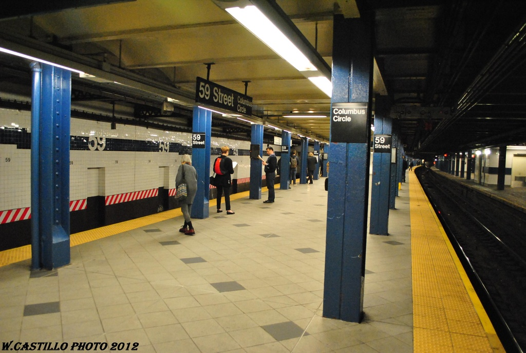 (275k, 1024x687)<br><b>Country:</b> United States<br><b>City:</b> New York<br><b>System:</b> New York City Transit<br><b>Line:</b> IND 8th Avenue Line<br><b>Location:</b> 59th Street/Columbus Circle <br><b>Photo by:</b> Wilfredo Castillo<br><b>Date:</b> 4/25/2012<br><b>Viewed (this week/total):</b> 1 / 504