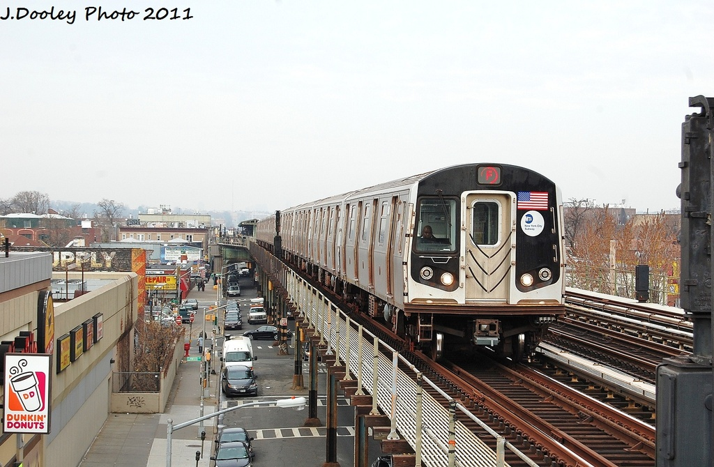 (333k, 1024x670)<br><b>Country:</b> United States<br><b>City:</b> New York<br><b>System:</b> New York City Transit<br><b>Line:</b> BMT Culver Line<br><b>Location:</b> Avenue I <br><b>Route:</b> F<br><b>Car:</b> R-160B (Option 2) (Kawasaki, 2009)  9908 <br><b>Photo by:</b> John Dooley<br><b>Date:</b> 12/5/2011<br><b>Viewed (this week/total):</b> 1 / 233