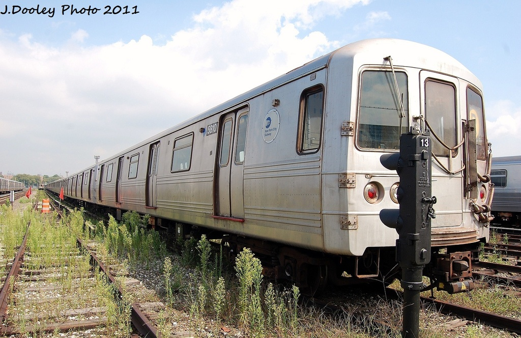 (362k, 1024x664)<br><b>Country:</b> United States<br><b>City:</b> New York<br><b>System:</b> New York City Transit<br><b>Location:</b> Coney Island Yard<br><b>Car:</b> R-46 (Pullman-Standard, 1974-75) 5810 <br><b>Photo by:</b> John Dooley<br><b>Date:</b> 8/26/2011<br><b>Viewed (this week/total):</b> 1 / 245
