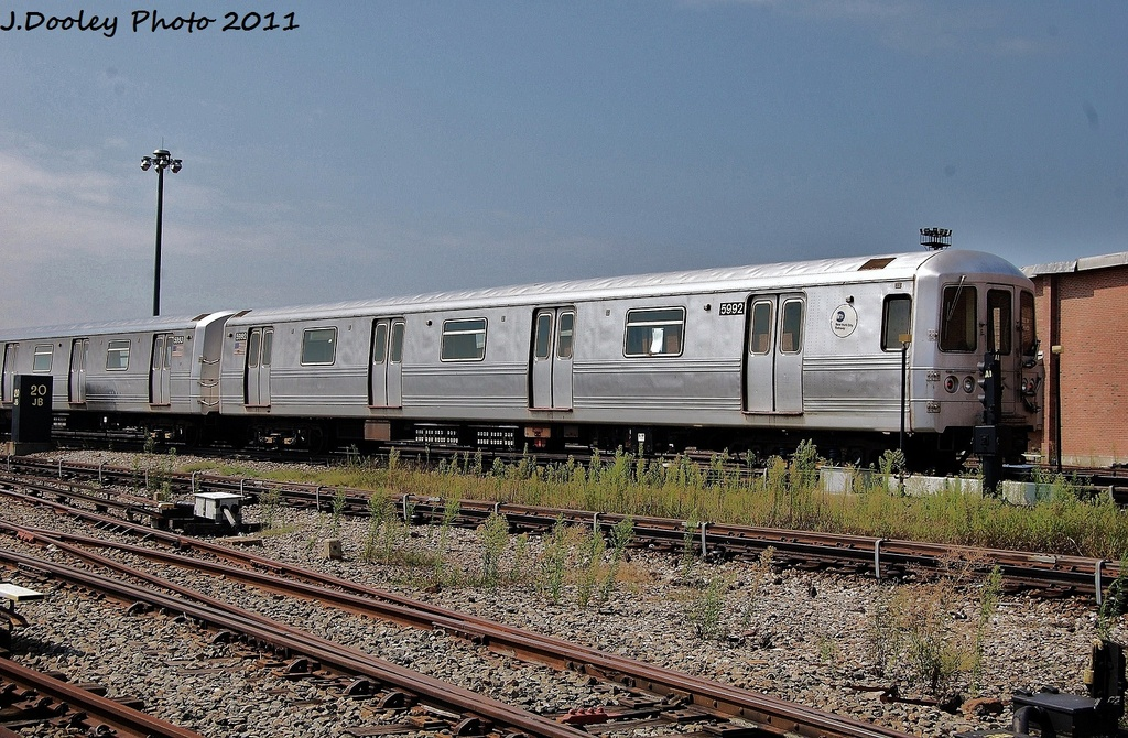 (401k, 1024x670)<br><b>Country:</b> United States<br><b>City:</b> New York<br><b>System:</b> New York City Transit<br><b>Location:</b> Coney Island Yard<br><b>Car:</b> R-46 (Pullman-Standard, 1974-75) 5992 <br><b>Photo by:</b> John Dooley<br><b>Date:</b> 8/26/2011<br><b>Viewed (this week/total):</b> 2 / 146