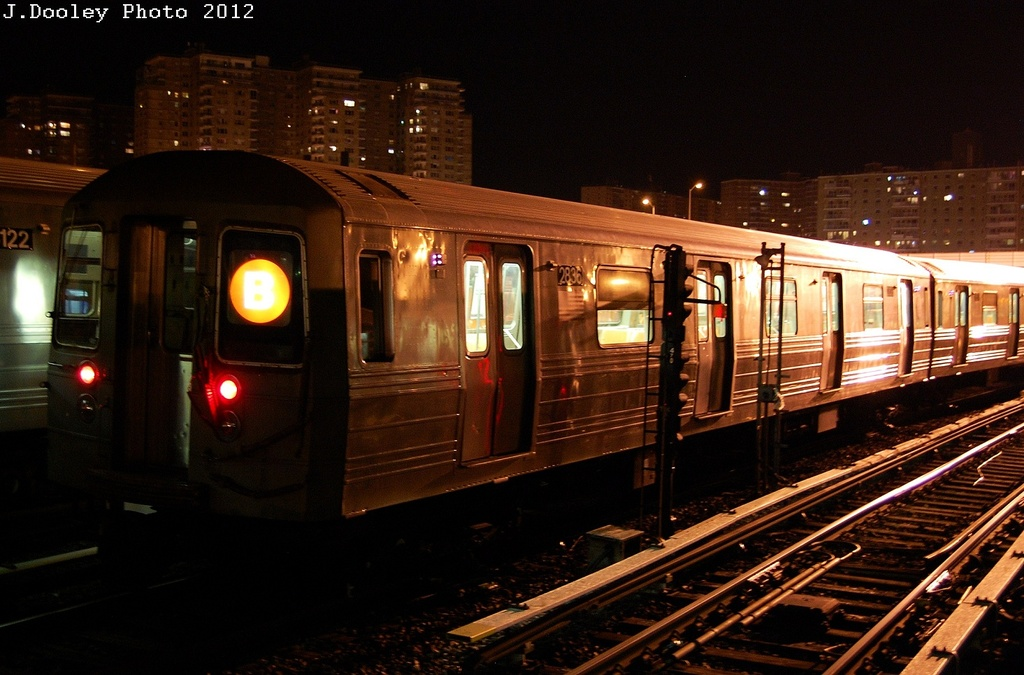 (300k, 1024x675)<br><b>Country:</b> United States<br><b>City:</b> New York<br><b>System:</b> New York City Transit<br><b>Location:</b> Coney Island Yard<br><b>Car:</b> R-68 (Westinghouse-Amrail, 1986-1988)  2836 <br><b>Photo by:</b> John Dooley<br><b>Date:</b> 2/27/2012<br><b>Viewed (this week/total):</b> 1 / 285