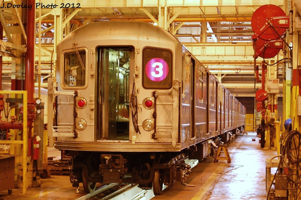 (399k, 1024x680)<br><b>Country:</b> United States<br><b>City:</b> New York<br><b>System:</b> New York City Transit<br><b>Location:</b> Coney Island Shop/Overhaul & Repair Shop<br><b>Car:</b> R-62 (Kawasaki, 1983-1985)  1486 <br><b>Photo by:</b> John Dooley<br><b>Date:</b> 1/7/2012<br><b>Viewed (this week/total):</b> 0 / 270