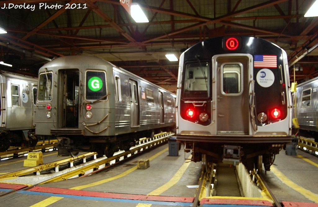 (315k, 1024x668)<br><b>Country:</b> United States<br><b>City:</b> New York<br><b>System:</b> New York City Transit<br><b>Location:</b> Coney Island Shop/Maint. & Inspection Shop<br><b>Car:</b> R-68 (Westinghouse-Amrail, 1986-1988)  2912 <br><b>Photo by:</b> John Dooley<br><b>Date:</b> 10/15/2011<br><b>Viewed (this week/total):</b> 1 / 680