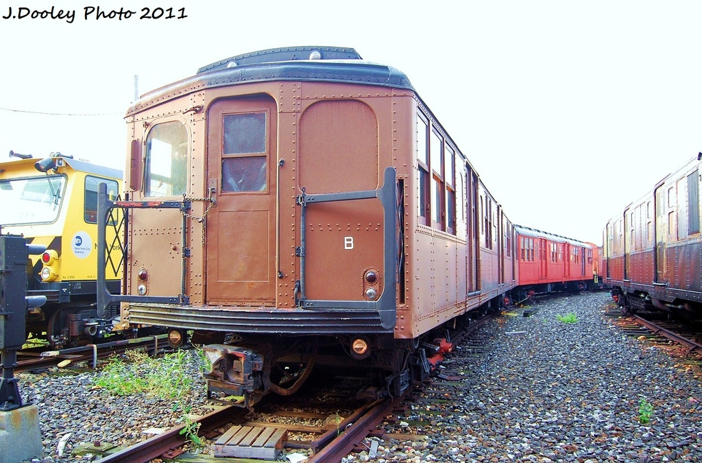 (367k, 1024x675)<br><b>Country:</b> United States<br><b>City:</b> New York<br><b>System:</b> New York City Transit<br><b>Location:</b> Coney Island Yard-Museum Yard<br><b>Car:</b> BMT A/B-Type Standard 2390-2392 <br><b>Photo by:</b> John Dooley<br><b>Date:</b> 8/26/2011<br><b>Viewed (this week/total):</b> 10 / 1013