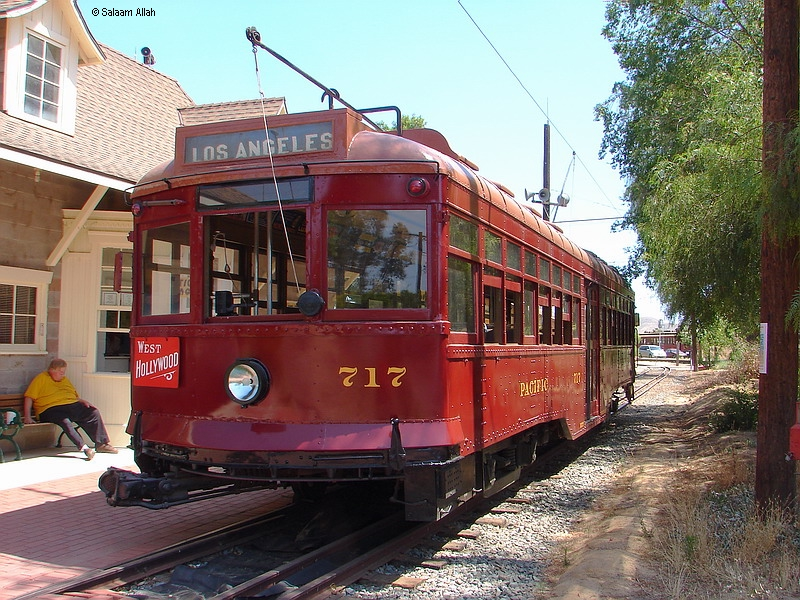 (467k, 800x600)<br><b>Country:</b> United States<br><b>City:</b> Perris, CA<br><b>System:</b> Orange Empire Railway Museum <br><b>Car:</b>  717 <br><b>Photo by:</b> Salaam Allah<br><b>Date:</b> 6/19/2010<br><b>Viewed (this week/total):</b> 0 / 88