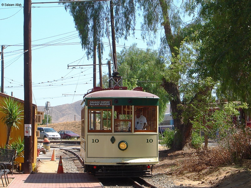 (560k, 800x600)<br><b>Country:</b> United States<br><b>City:</b> Perris, CA<br><b>System:</b> Orange Empire Railway Museum <br><b>Car:</b>  10 <br><b>Photo by:</b> Salaam Allah<br><b>Date:</b> 6/19/2010<br><b>Viewed (this week/total):</b> 1 / 64