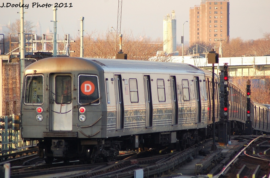 (361k, 1024x677)<br><b>Country:</b> United States<br><b>City:</b> New York<br><b>System:</b> New York City Transit<br><b>Location:</b> Coney Island/Stillwell Avenue<br><b>Route:</b> D<br><b>Car:</b> R-68 (Westinghouse-Amrail, 1986-1988)  2844 <br><b>Photo by:</b> John Dooley<br><b>Date:</b> 12/31/2011<br><b>Viewed (this week/total):</b> 2 / 310