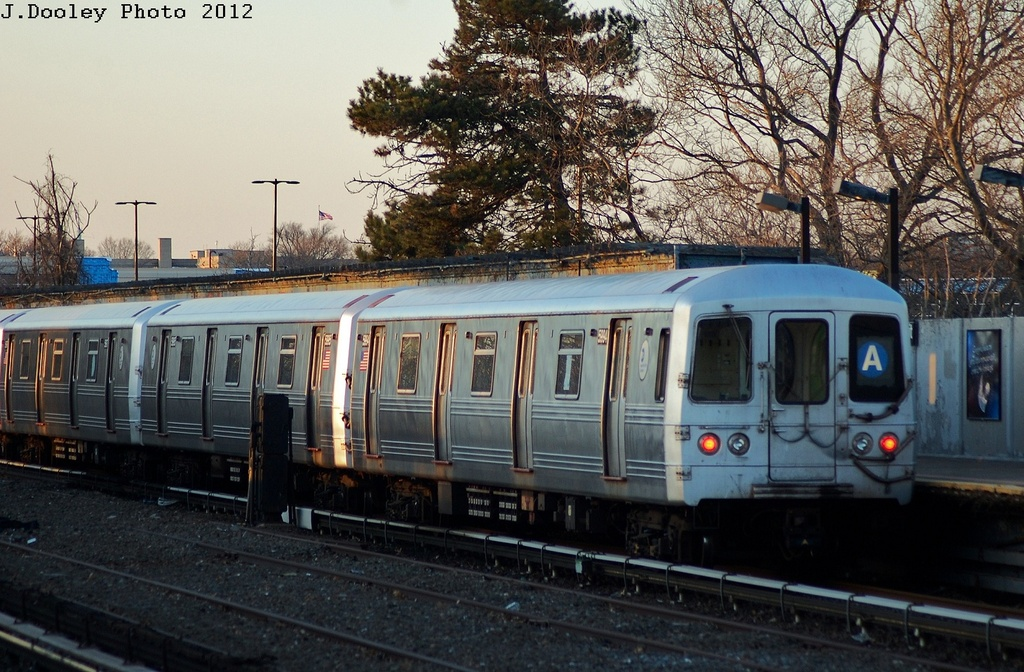 (361k, 1024x672)<br><b>Country:</b> United States<br><b>City:</b> New York<br><b>System:</b> New York City Transit<br><b>Line:</b> IND Rockaway<br><b>Location:</b> Aqueduct/North Conduit Avenue <br><b>Route:</b> A<br><b>Car:</b> R-46 (Pullman-Standard, 1974-75) 5944 <br><b>Photo by:</b> John Dooley<br><b>Date:</b> 3/14/2012<br><b>Viewed (this week/total):</b> 6 / 589