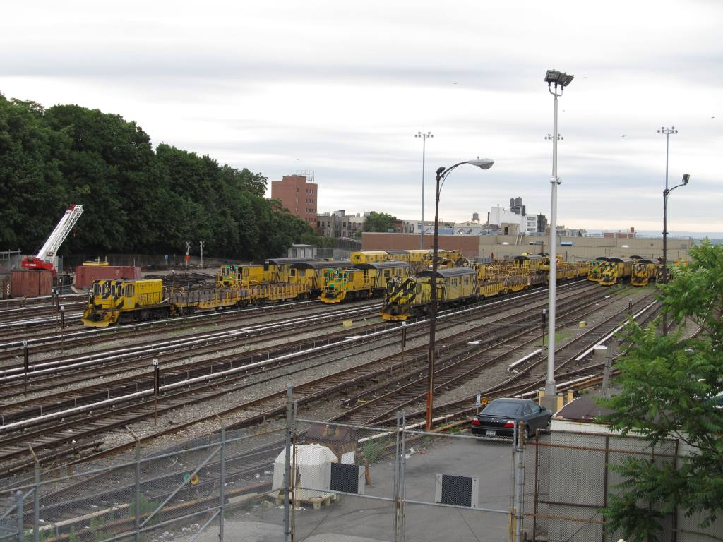 (135k, 1024x768)<br><b>Country:</b> United States<br><b>City:</b> New York<br><b>System:</b> New York City Transit<br><b>Location:</b> 36th Street Yard<br><b>Photo by:</b> Robbie Rosenfeld<br><b>Date:</b> 6/11/2012<br><b>Viewed (this week/total):</b> 5 / 725