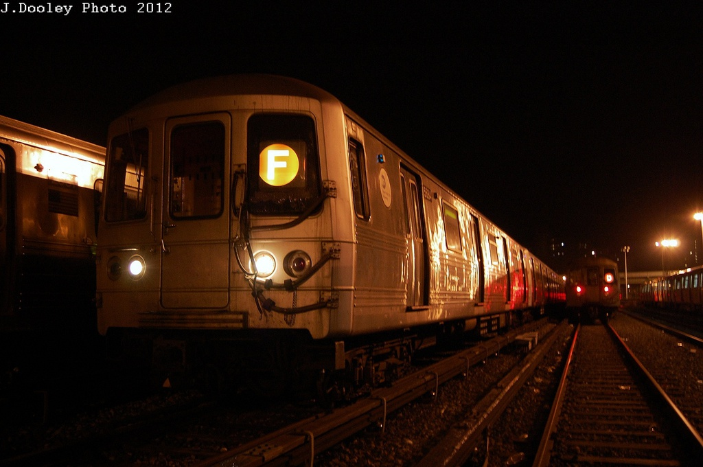 (249k, 1024x680)<br><b>Country:</b> United States<br><b>City:</b> New York<br><b>System:</b> New York City Transit<br><b>Location:</b> Coney Island Yard<br><b>Car:</b> R-46 (Pullman-Standard, 1974-75) 5684 <br><b>Photo by:</b> John Dooley<br><b>Date:</b> 2/23/2012<br><b>Viewed (this week/total):</b> 1 / 210