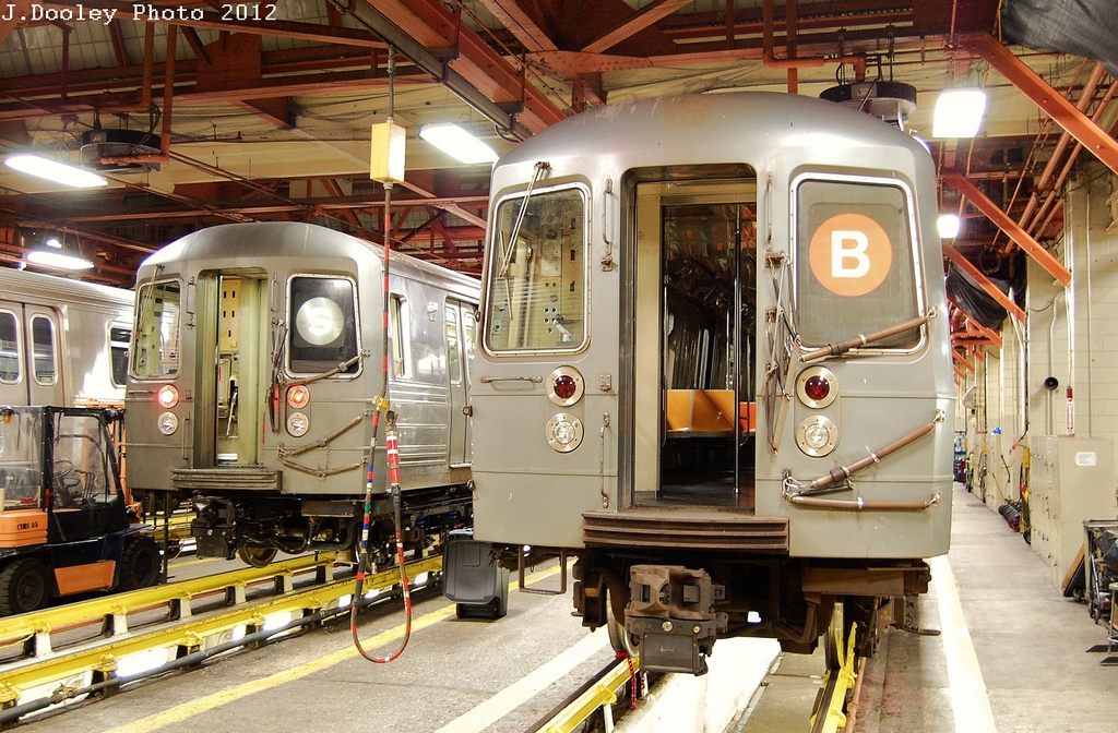 (393k, 1024x672)<br><b>Country:</b> United States<br><b>City:</b> New York<br><b>System:</b> New York City Transit<br><b>Location:</b> Coney Island Shop/Maint. & Inspection Shop<br><b>Car:</b> R-68/R-68A Series (Number Unknown)  <br><b>Photo by:</b> John Dooley<br><b>Date:</b> 2/27/2012<br><b>Viewed (this week/total):</b> 1 / 1123