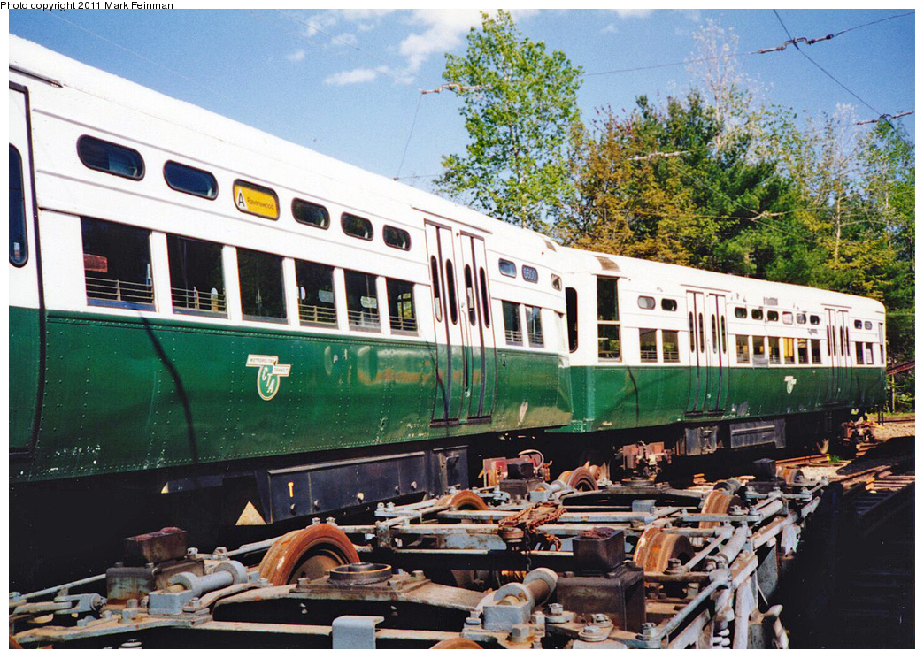 (482k, 1044x744)<br><b>Country:</b> United States<br><b>City:</b> Kennebunk, ME<br><b>System:</b> Seashore Trolley Museum <br><b>Car:</b> CTA 6000 Series 6600/6599 <br><b>Photo by:</b> Mark S. Feinman<br><b>Date:</b> 1994<br><b>Viewed (this week/total):</b> 3 / 378