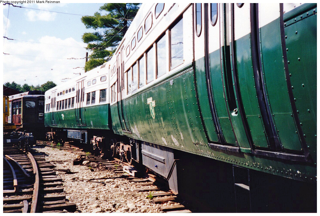(430k, 1044x706)<br><b>Country:</b> United States<br><b>City:</b> Kennebunk, ME<br><b>System:</b> Seashore Trolley Museum <br><b>Car:</b> CTA 6000 Series 6599/6600 <br><b>Photo by:</b> Mark S. Feinman<br><b>Date:</b> 1994<br><b>Viewed (this week/total):</b> 0 / 140