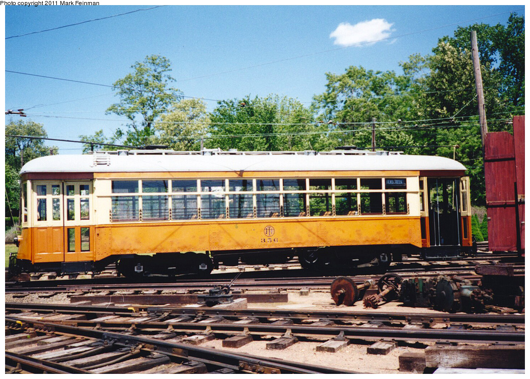 (501k, 1044x746)<br><b>Country:</b> United States<br><b>City:</b> Kennebunk, ME<br><b>System:</b> Seashore Trolley Museum <br><b>Car:</b>  356 <br><b>Photo by:</b> Mark S. Feinman<br><b>Date:</b> 1994<br><b>Viewed (this week/total):</b> 0 / 305