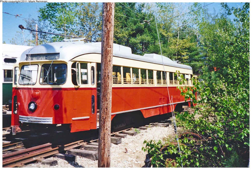 (578k, 1044x706)<br><b>Country:</b> United States<br><b>City:</b> Kennebunk, ME<br><b>System:</b> Seashore Trolley Museum <br><b>Car:</b> Dallas Railway & Terminal PCC Double End (Pullman-Standard, 1945)  608 <br><b>Photo by:</b> Mark S. Feinman<br><b>Date:</b> 1994<br><b>Viewed (this week/total):</b> 0 / 117