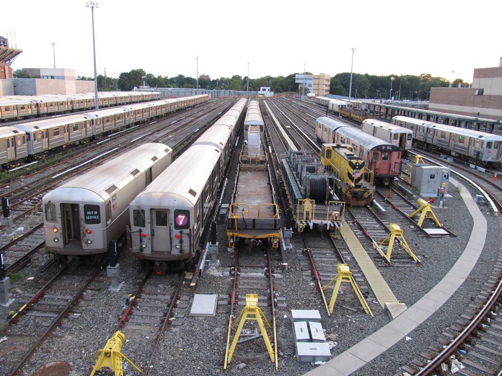 (169k, 1024x768)<br><b>Country:</b> United States<br><b>City:</b> New York<br><b>System:</b> New York City Transit<br><b>Location:</b> Corona Yard<br><b>Photo by:</b> Robbie Rosenfeld<br><b>Date:</b> 8/7/2012<br><b>Viewed (this week/total):</b> 1 / 372