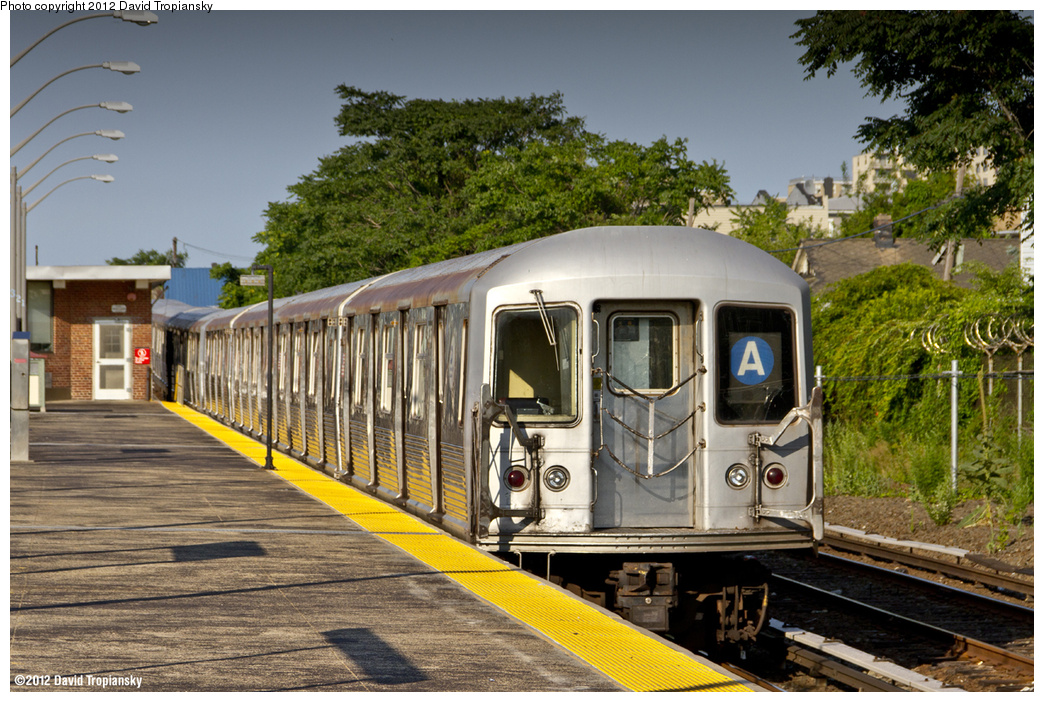 (489k, 1044x702)<br><b>Country:</b> United States<br><b>City:</b> New York<br><b>System:</b> New York City Transit<br><b>Line:</b> IND Rockaway<br><b>Location:</b> Rockaway Park/Beach 116th Street <br><b>Route:</b> A<br><b>Car:</b> R-42 (St. Louis, 1969-1970)  4835 <br><b>Photo by:</b> David Tropiansky<br><b>Date:</b> 7/9/2012<br><b>Viewed (this week/total):</b> 2 / 678