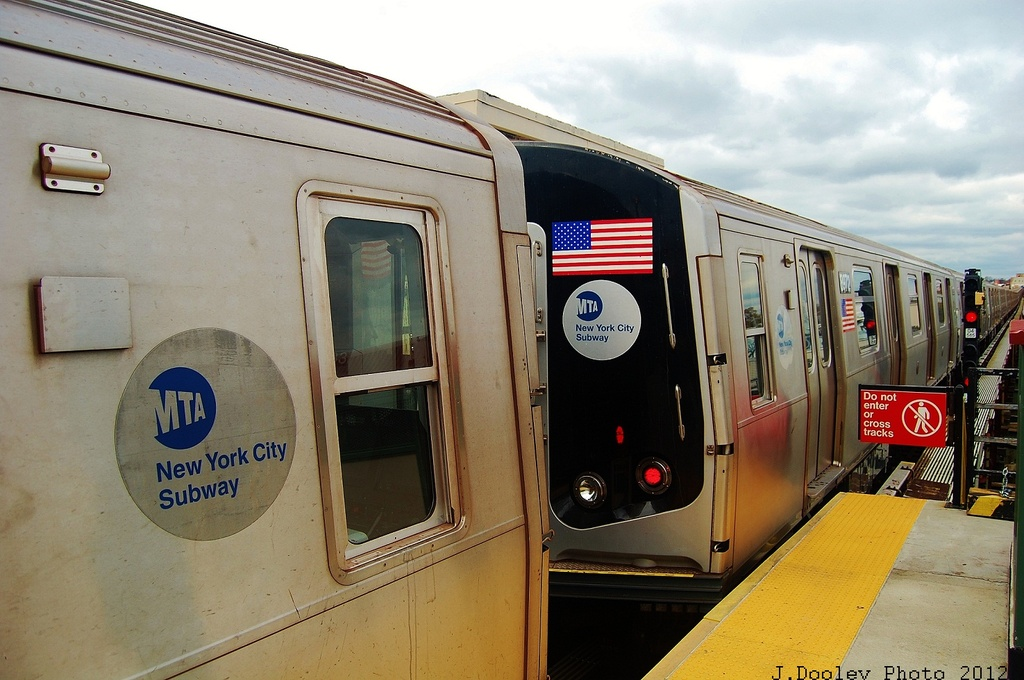 (305k, 1024x680)<br><b>Country:</b> United States<br><b>City:</b> New York<br><b>System:</b> New York City Transit<br><b>Line:</b> BMT West End Line<br><b>Location:</b> 62nd Street <br><b>Car:</b> R-160B (Kawasaki, 2005-2008)  8972 <br><b>Photo by:</b> John Dooley<br><b>Date:</b> 11/1/2012<br><b>Viewed (this week/total):</b> 0 / 594