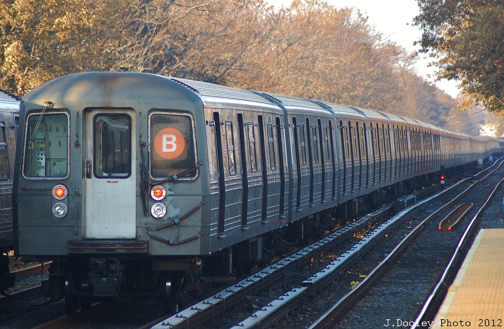 (401k, 1024x668)<br><b>Country:</b> United States<br><b>City:</b> New York<br><b>System:</b> New York City Transit<br><b>Line:</b> BMT Brighton Line<br><b>Location:</b> Neck Road <br><b>Car:</b> R-68 (Westinghouse-Amrail, 1986-1988)  2892 <br><b>Photo by:</b> John Dooley<br><b>Date:</b> 11/11/2012<br><b>Notes:</b> Post-Sandy layups due to Coney Island Yard cleanup<br><b>Viewed (this week/total):</b> 2 / 460