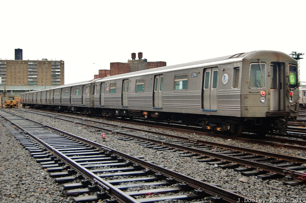 (317k, 1024x680)<br><b>Country:</b> United States<br><b>City:</b> New York<br><b>System:</b> New York City Transit<br><b>Location:</b> Coney Island Yard<br><b>Car:</b> R-68 (Westinghouse-Amrail, 1986-1988)  2790 <br><b>Photo by:</b> John Dooley<br><b>Date:</b> 12/9/2012<br><b>Viewed (this week/total):</b> 0 / 336