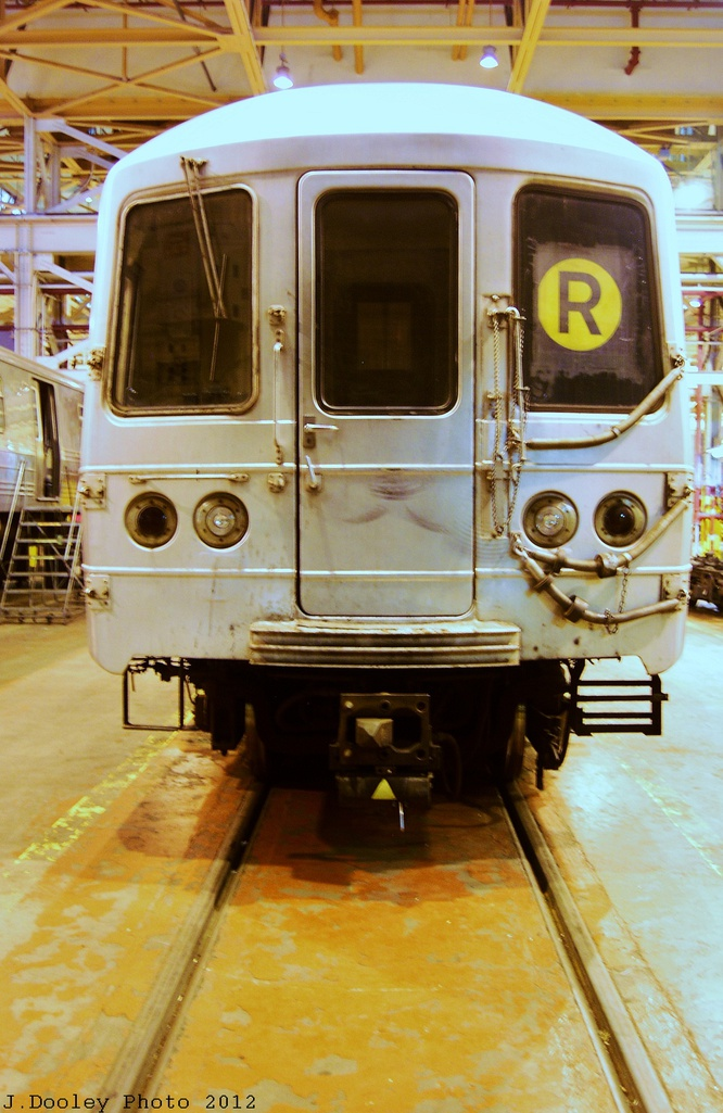 (311k, 666x1025)<br><b>Country:</b> United States<br><b>City:</b> New York<br><b>System:</b> New York City Transit<br><b>Location:</b> Coney Island Shop/Overhaul & Repair Shop<br><b>Car:</b> R-46 (Pullman-Standard, 1974-75)  <br><b>Photo by:</b> John Dooley<br><b>Date:</b> 12/8/2012<br><b>Viewed (this week/total):</b> 0 / 696